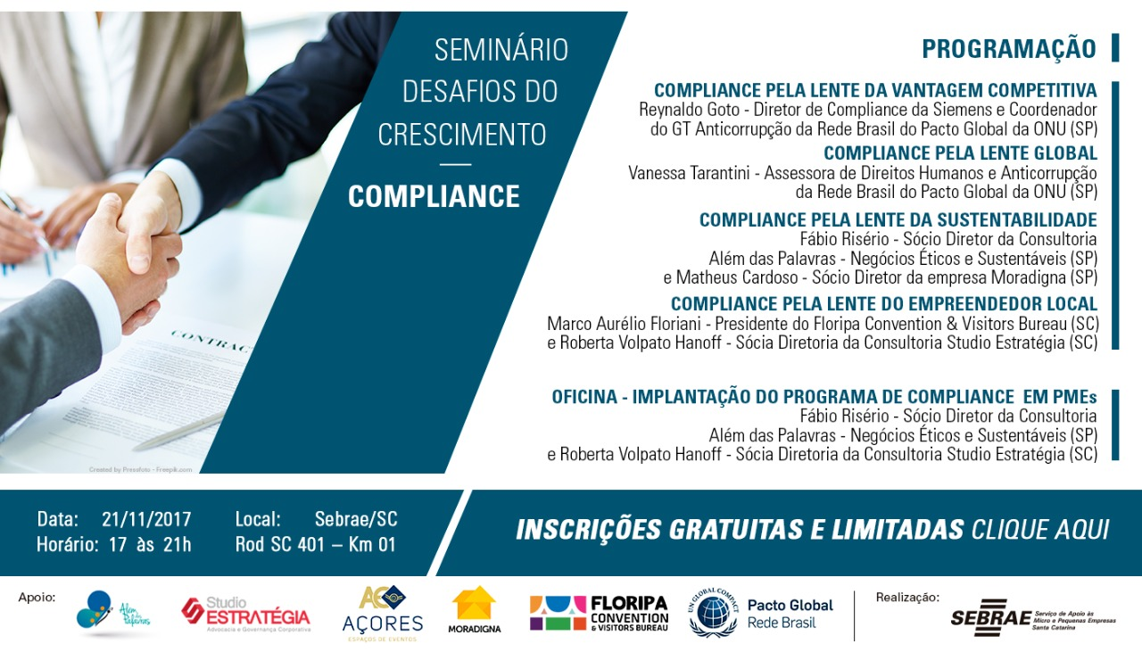 desafios do Crescimento Compliance