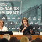 Em último evento do Cetur, Jeanine Pires defende redução de tributos para hotelaria