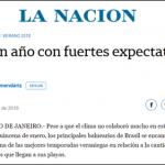 Verão brasileiro é destaque em jornais da Argentina