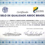 Pires e Associados renova Selo de Qualidade ABEOC Brasil
